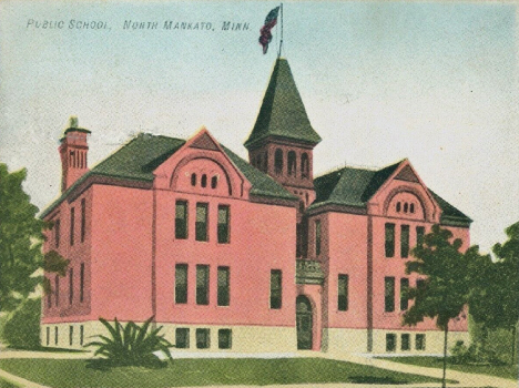 Public School, North Mankato Minnesota, 1910