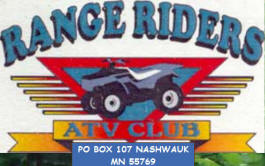 Range Riders ATV Club, Nashwauk Minnesota