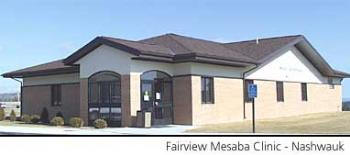 Fairview Mesaba Clinic - Nashwauk Minnesota