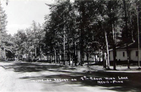 In We Go Resort on the 8th Crow Wing Lake, Nevis Minnesota, 1950