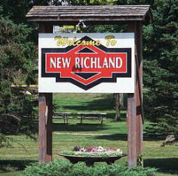 Welcome to New Richland Minnesota!