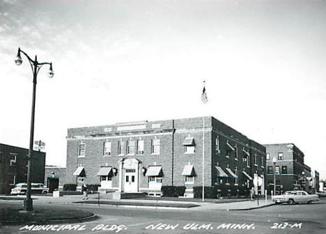 Municipal Building, New Ulm Minnesota, 1960's