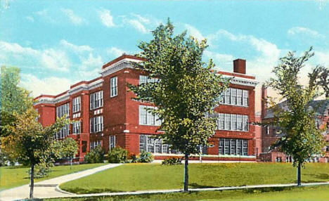High School, New Ulm Minnesota, 1920's