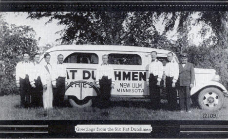 Six Fat Dutchmen, New Ulm Minnesota, 1940's