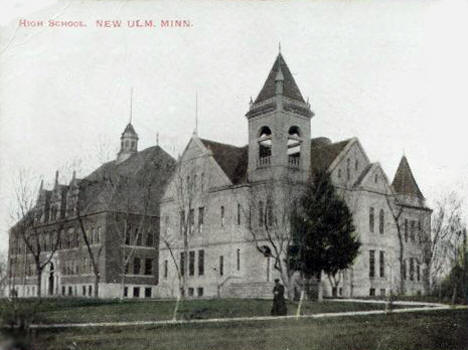 High School, New Ulm Minnesota, 1907