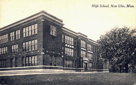 High School, New Ulm Minnesota, 1919