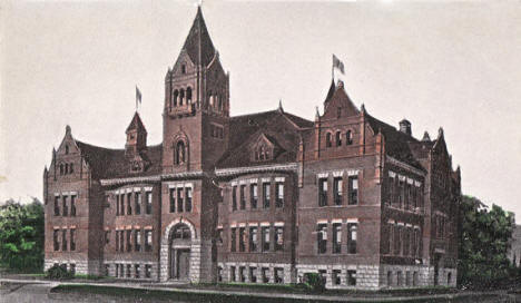 Catholic School, New Ulm Minnesota, 1910