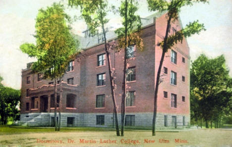 Dormitory, Dr. Martin Luther College, New Ulm Minnesota, 1910