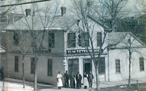 Zum Peter Hengel Bar, New Ulm Minnesota, 1910's