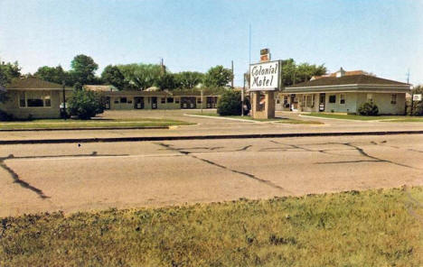 Colonial Motel, New Ulm Minnesota, 1960's