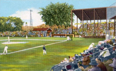 Johnson Field, New Ulm Minnesota, 1953