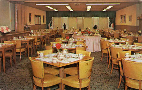 Eiber's Willamarie Dining Room, New Ulm Minnesota, 1950's