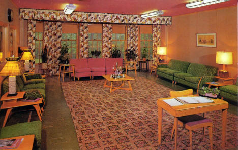 Reception Room, Centennial Hall, Dr. Martin Luther College, New Ulm, 1960's