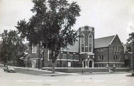 First Methodist Church, New Ulm Minnesota, 1940's