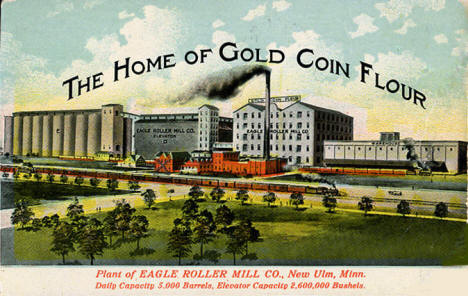 Eagle Roller Mill, New Ulm Minnesota, 1912