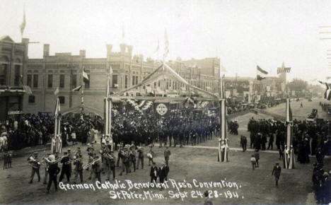 German Catholic Benevolent Association Convention, New Ulm Minnesota, 1911