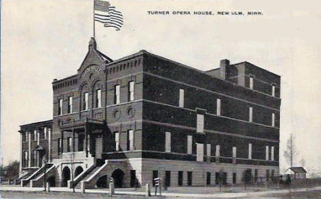 Turner Opera Hall, New Ulm Minnesota, 1910
