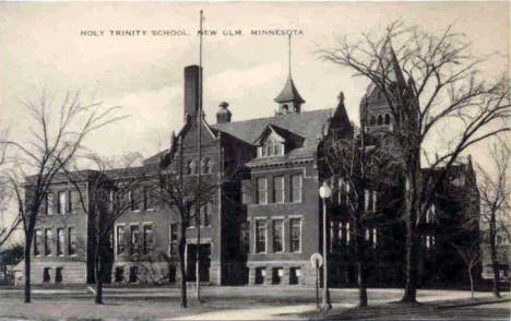 Holy Trinity School, New Ulm Minnesota, 1930's?
