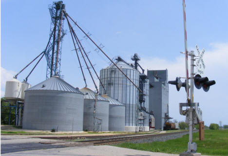 Newfolden Co-op Grain Elevator, Newfolden Minnesota, 2008