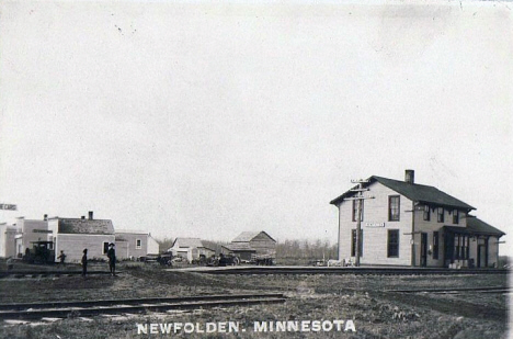 General view, Newfolden Minnesota, 1913