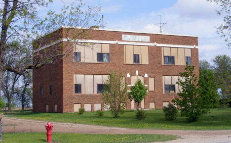 Old Nielsville School, now closed, Nielsville Minnesota, 2008