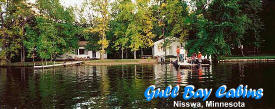 Gull Bay Cabins, Nisswa Minnesota