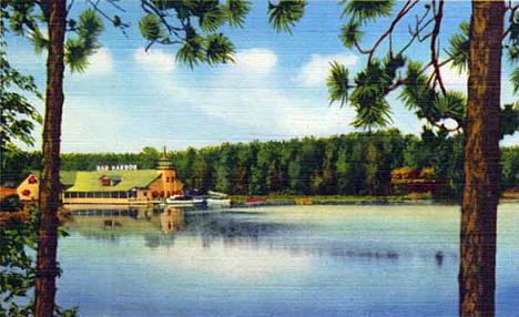 Bar Harbor on Gull Lake near Nisswa Minnesota, 1950
