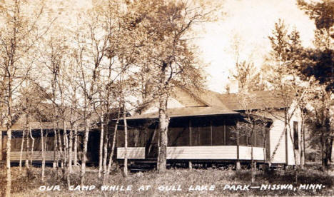 Gull Lake Park, Nisswa Minnesota, 1930's