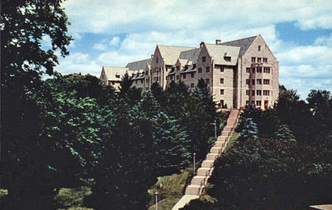 Thorson Hall, St. Olaf College, Northfield Minnesota, 1950's