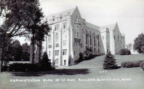 Administration Building, St. Olaf College, Northfield Minnesota, 1940's