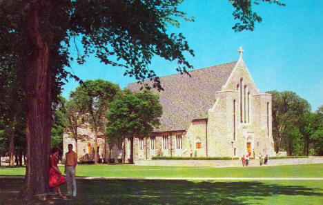Boe Chapel, St. Olaf College, Northfield Minnesota, 1963