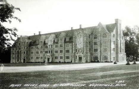 Agnes Melby Hall, St. Olaf College, Northfield Minnesota, 1930's