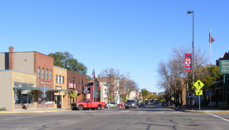Street scene, Northfield Minnesota, 2010