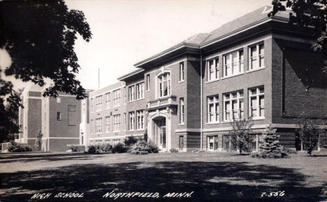 High School, Northfield Minnesota, 1944