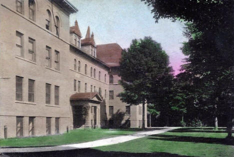 Boys dormitory, St. Olaf College, Northfield Minnesota, 1908