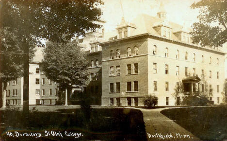 Dormitory, St. Olaf College, Northfield Minnesota, 1910's?
