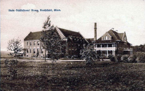 State Odd Fellows Home, Northfield Minnesota, 1910's
