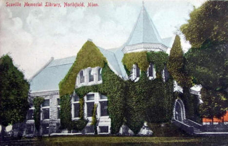 Scoville Memorial Library, Northfield Minnesota, 1908