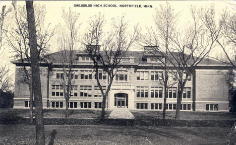 New High School, Northfield Minnesota, 1920
