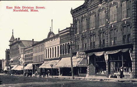 East Side, Division Street, Northfield Minnesota, 1915
