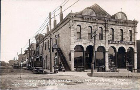 Northfield Post Office, Northfield Minnesota, 1900's