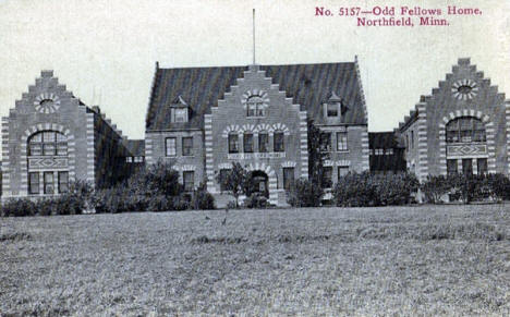 Odd Fellows Home, Northfield Minnesota, 1910's