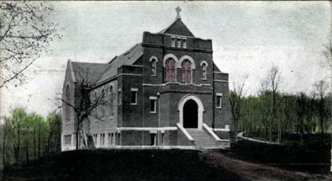 Hoyme Memorial Chapel, St. Olaf's College, Northfield Minnesota, 1912