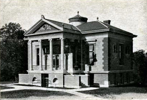 Steensland Library at St. Olaf College, Northfield, Minnesota, 1907