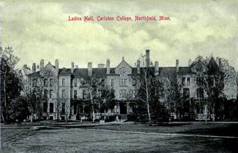 Ladies Hall, Carleton College, Northfield Minnesota, 1909