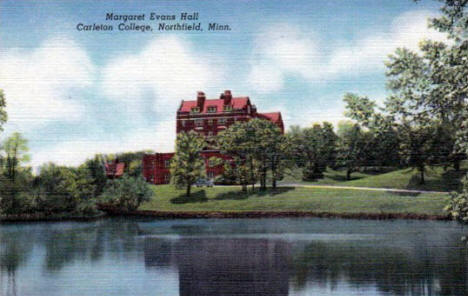 Margaret Evans Hall, Carleton College, Northfield Minnesota, 1940's