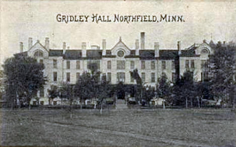 Gridley Hall, Northfield Minnesota, 1904