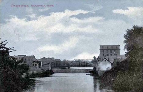 Cannon River, Northfield Minnesota, 1910