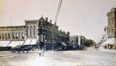 Main Street, Northfield Minnesota, 1918