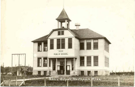 Public School, Northome Minnesota, 1905